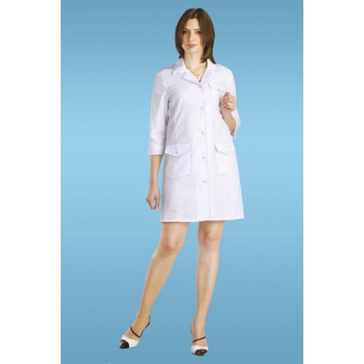 Халат медицинский женский (мини) 87